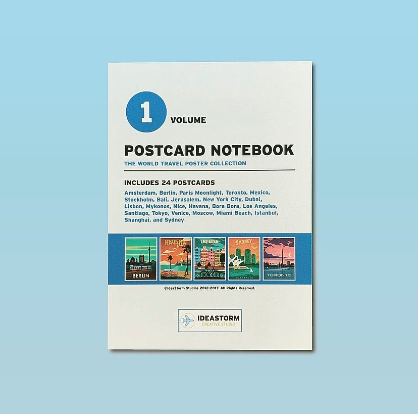 Image of Postcard Notepad Vol. 1