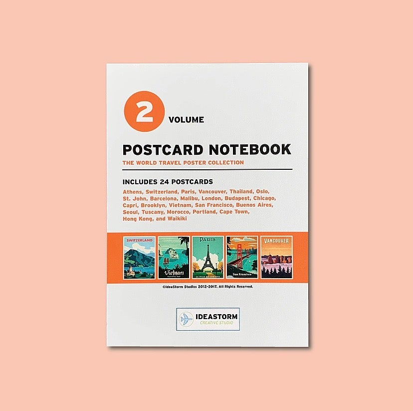 Image of Postcard Notepad Vol. 2