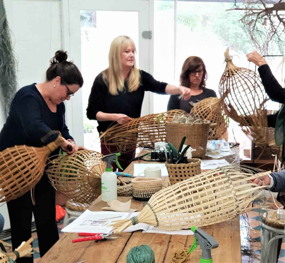 Image of WEAVING WORKSHOP TWINED FISH TRAP -  COONAMBLE - Saturday 26th October 2019