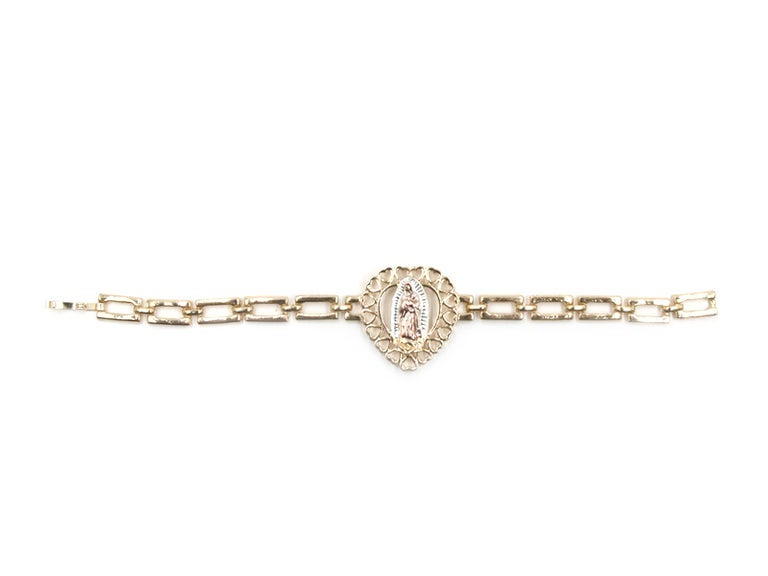 Image of Virgen Heart Bracelet