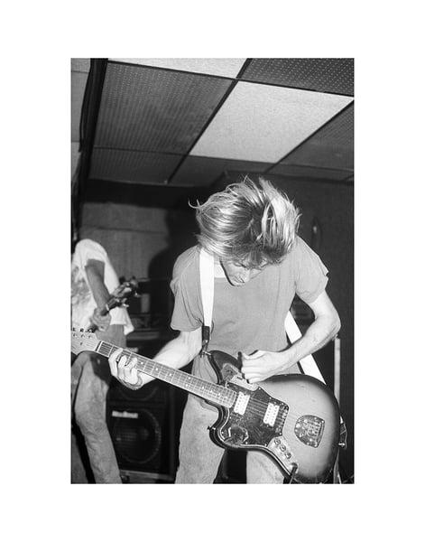 Image of 11x14 Kurt Cobain / Nirvana October 9, 1991
