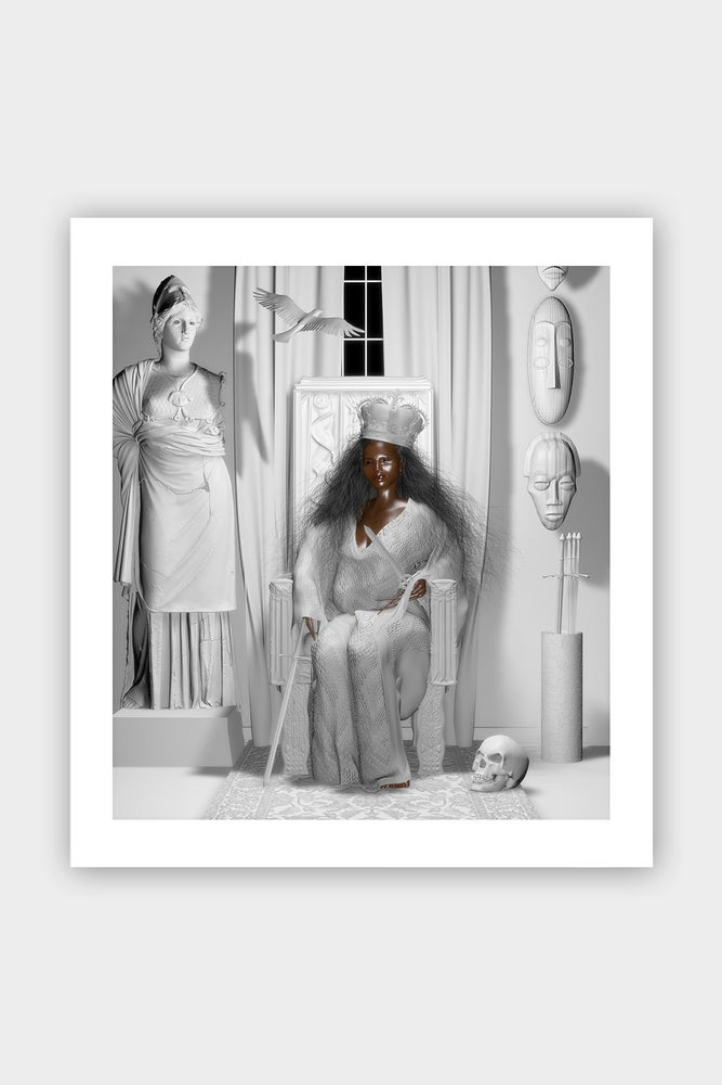 "Image of ""Erzulie Dantor: The Empress"" Print"