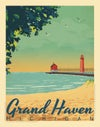Grand Haven Limited Edition 11x14 Print No. [093]