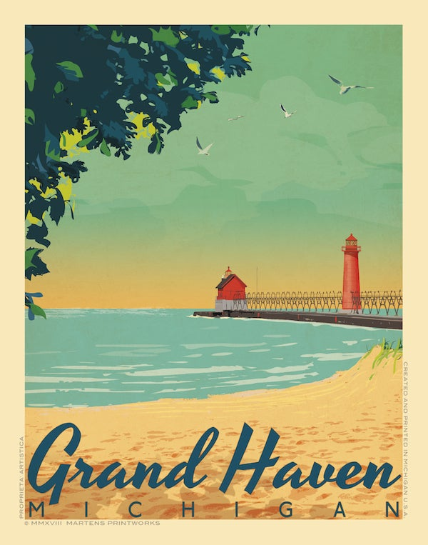 Image of Grand Haven Limited Edition 11x14 Print No. [093]