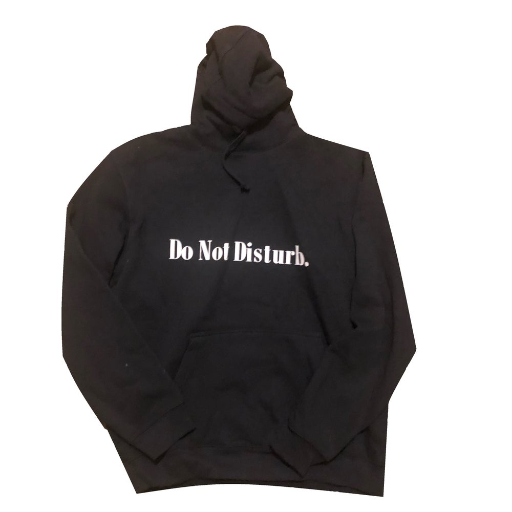 "Image of Everyday Do Not Disturb Hoodie ""Black"""