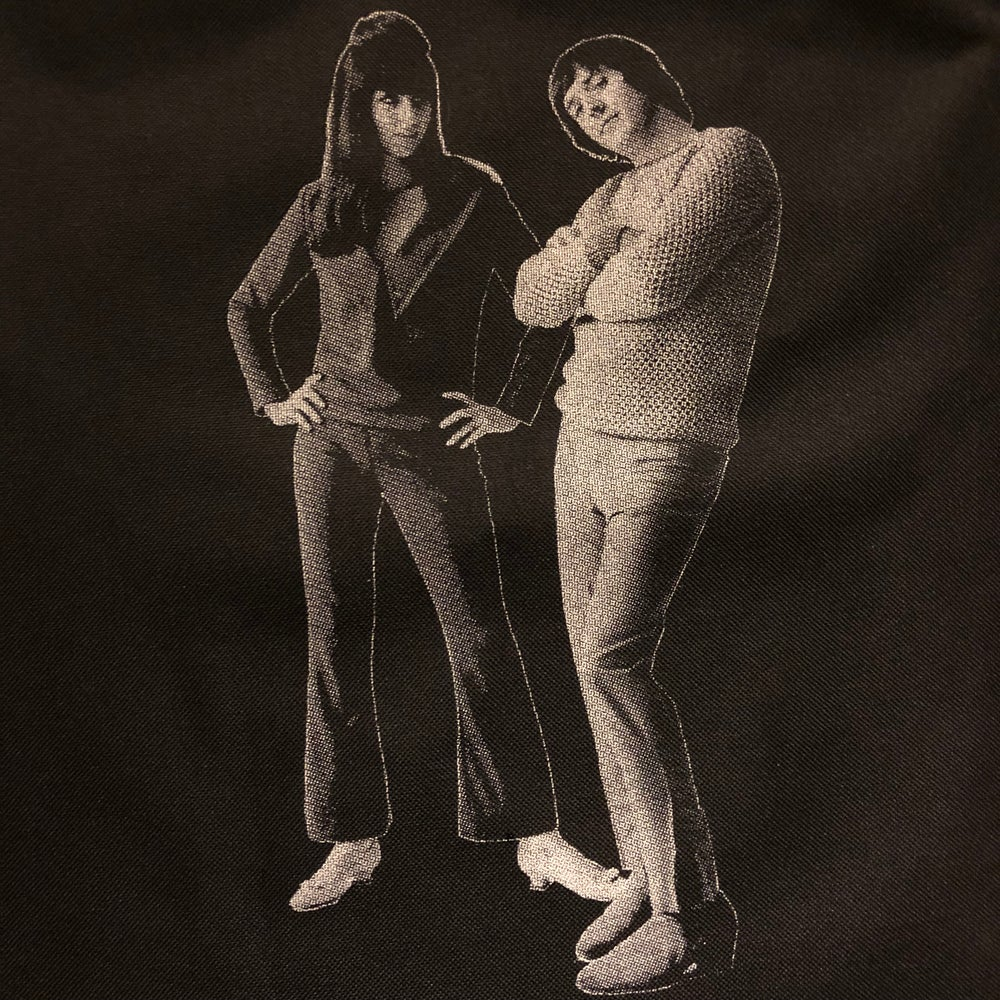 Image of Sonny & Cher tote bag