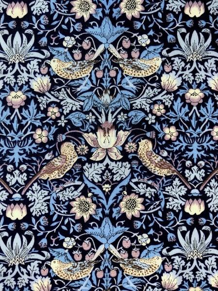 Image of Liberty fabric - Strawberry Thief B