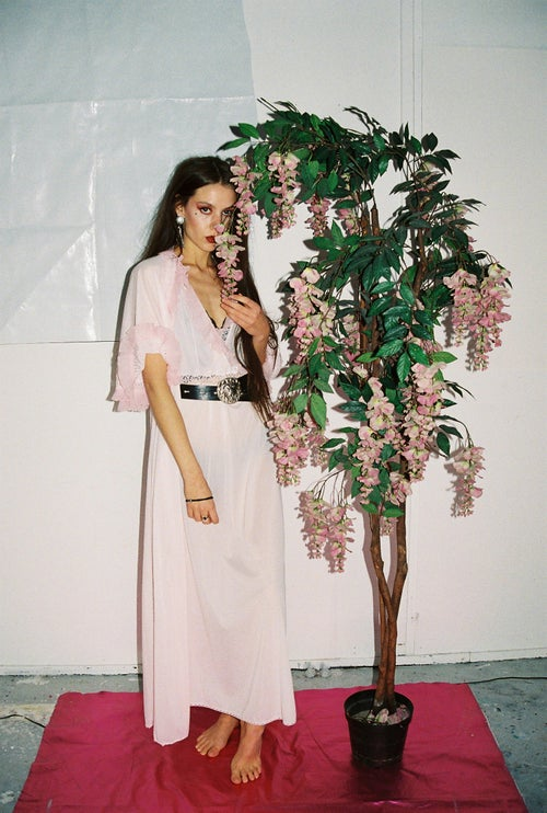 Image of Pink Gown