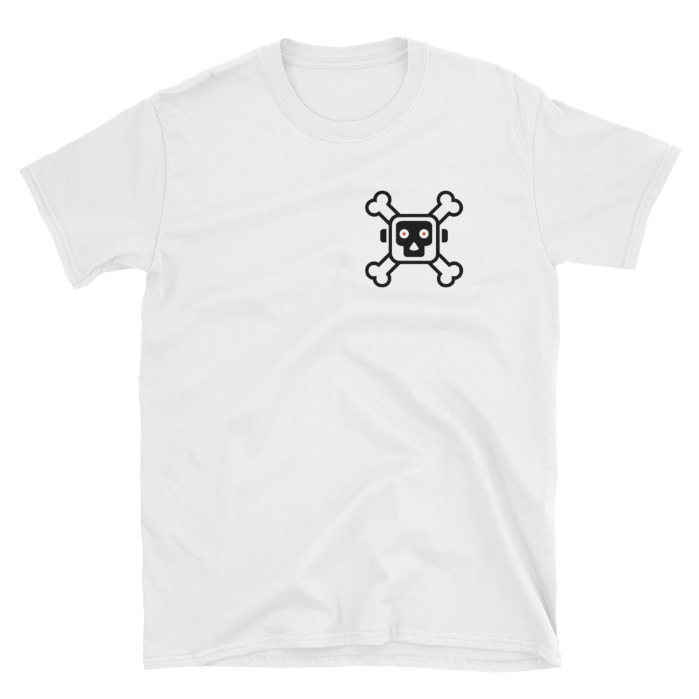 "Image of ""Respect The Logo"" T-Shirt Wht/Blk"