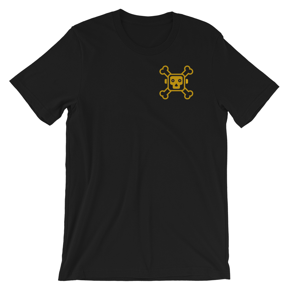"""Image of """"Respect The Logo"""" T-Shirt Blk/Gld"""