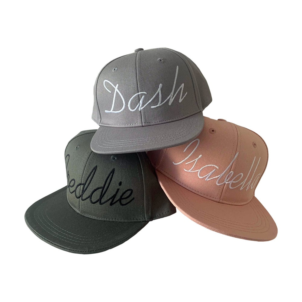 Image of SIGNATURE SNAPBACKS