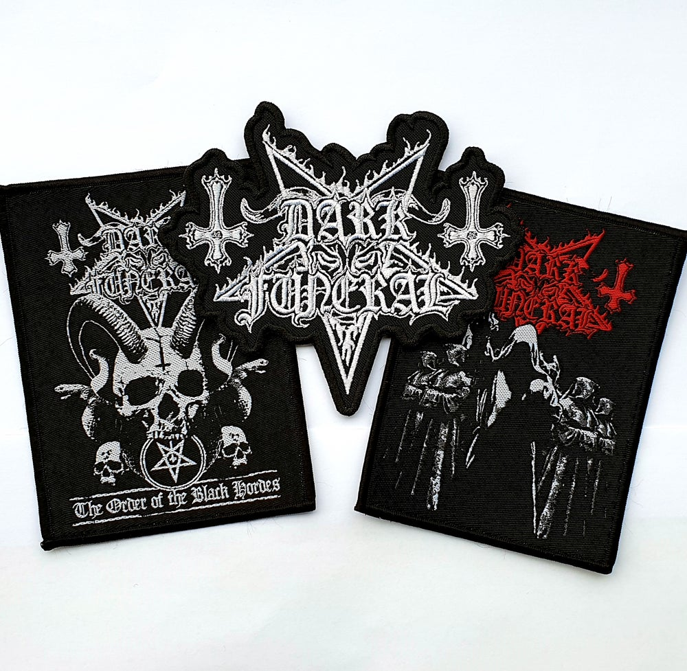"Image of Dark Funeral ""Patch Bundle 1"""