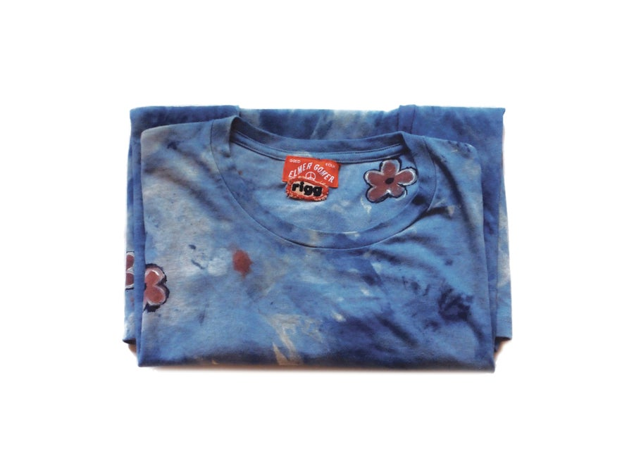Image of Flower and Indigo T-Shirt