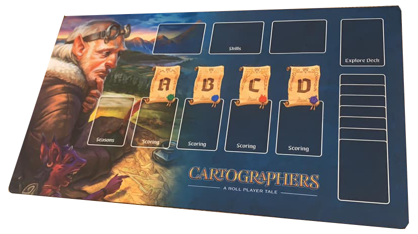 Image of Cartographers Playmat