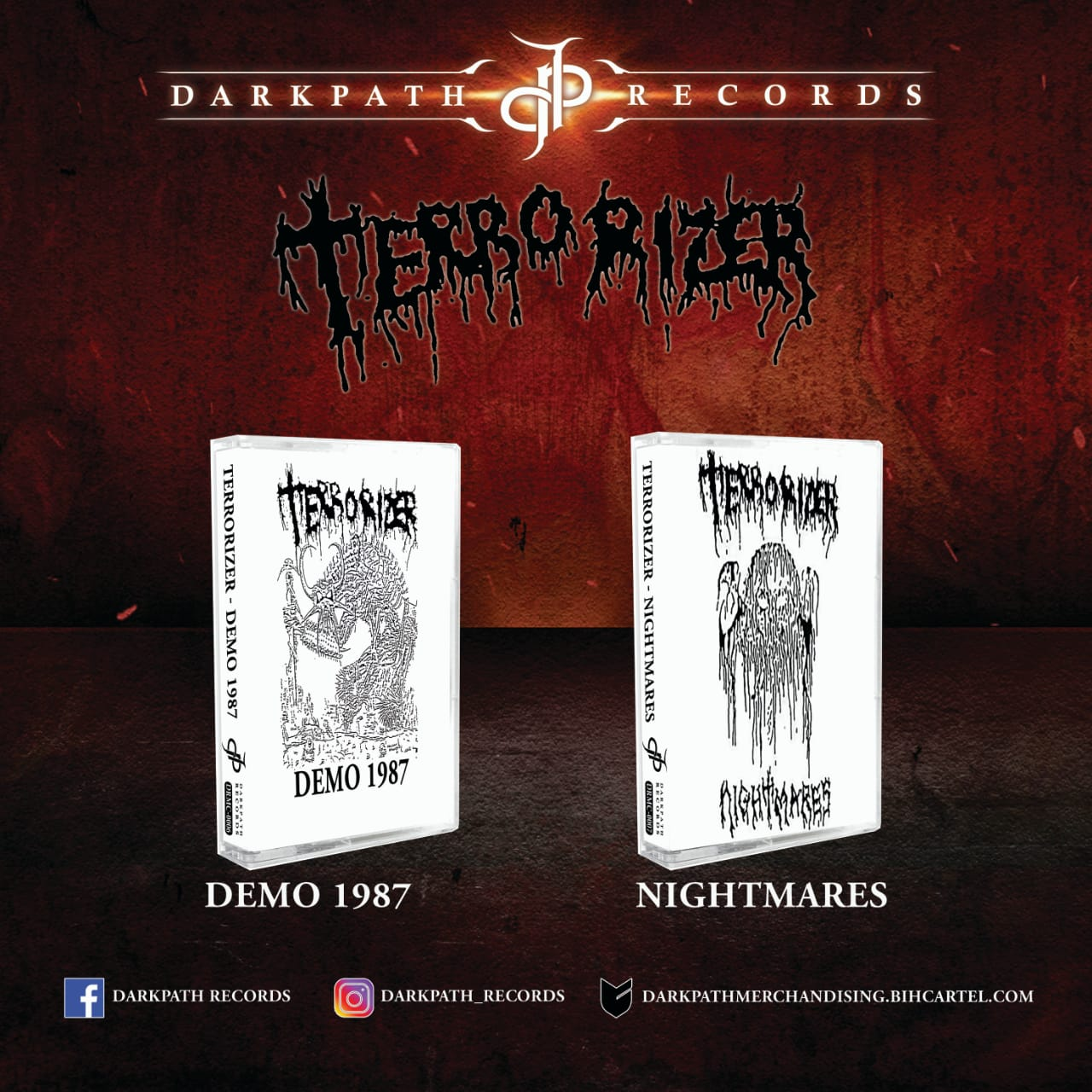 Image of TERRORIZER - Tapes