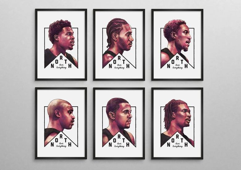 Image of Toronto Raptors | North Over Everything Series Set