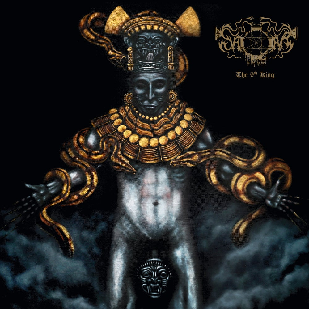 "Image of Saqra's Cult ""The 9th King"" CD"
