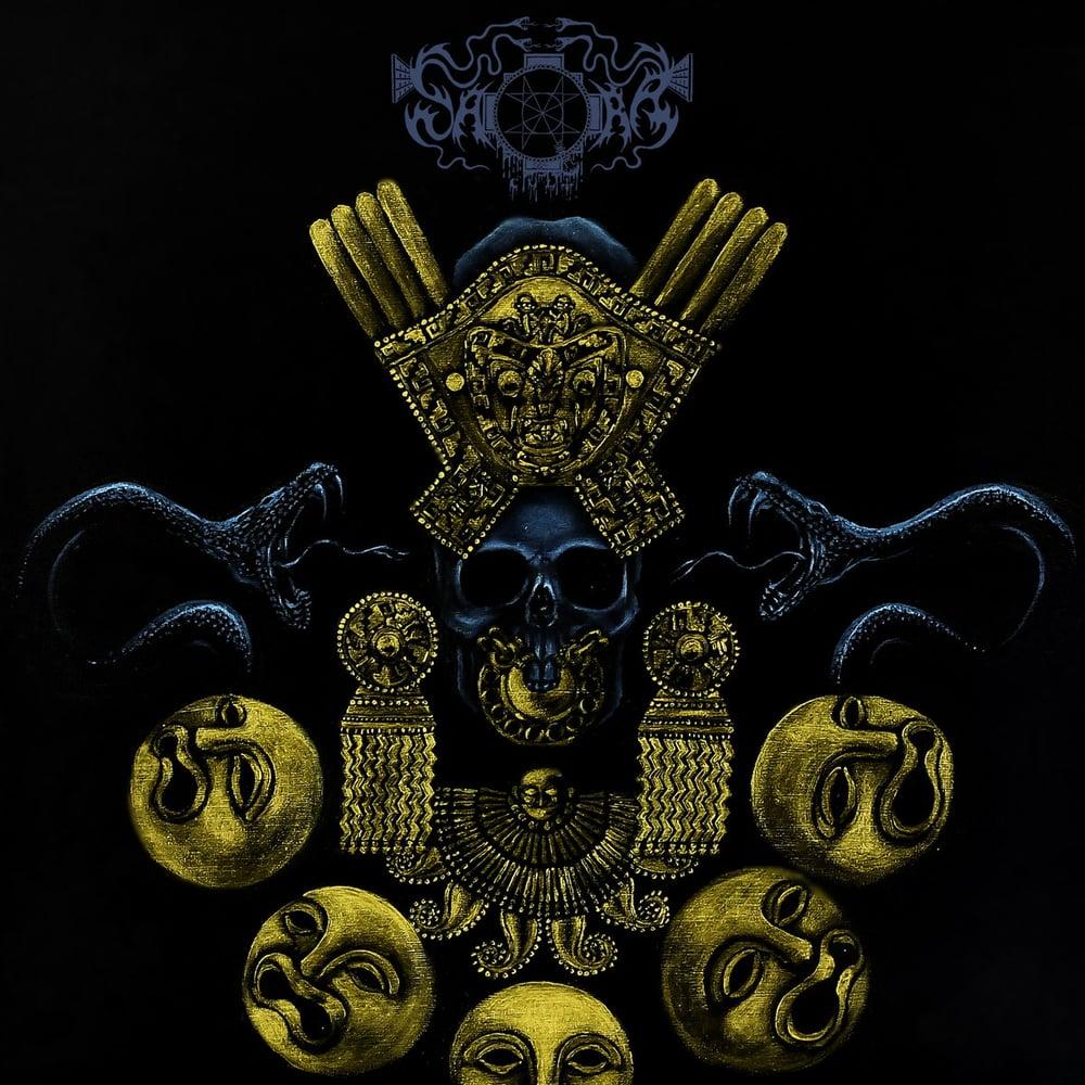 "Image of Saqra's Cult ""Forgotten Rites"" CD"