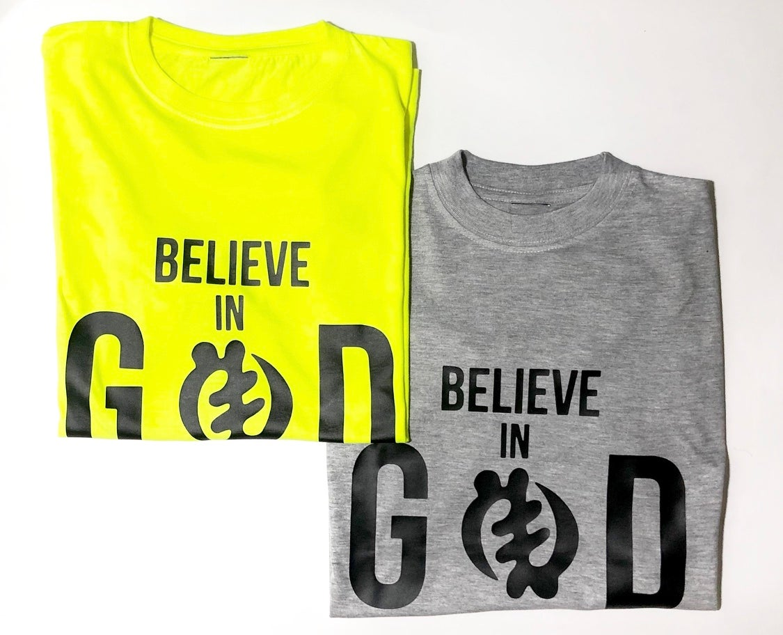 "Image of Villi'age"" Believe in God tee """