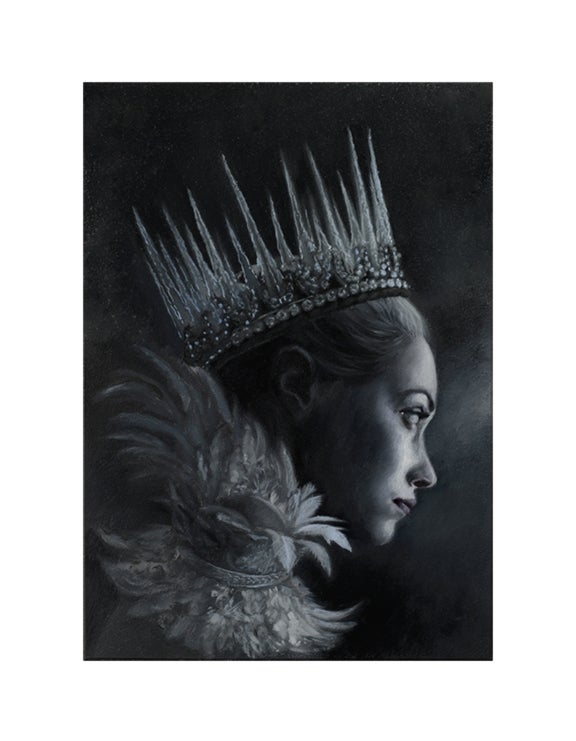 Image of Cailleach Bheur - open edition print