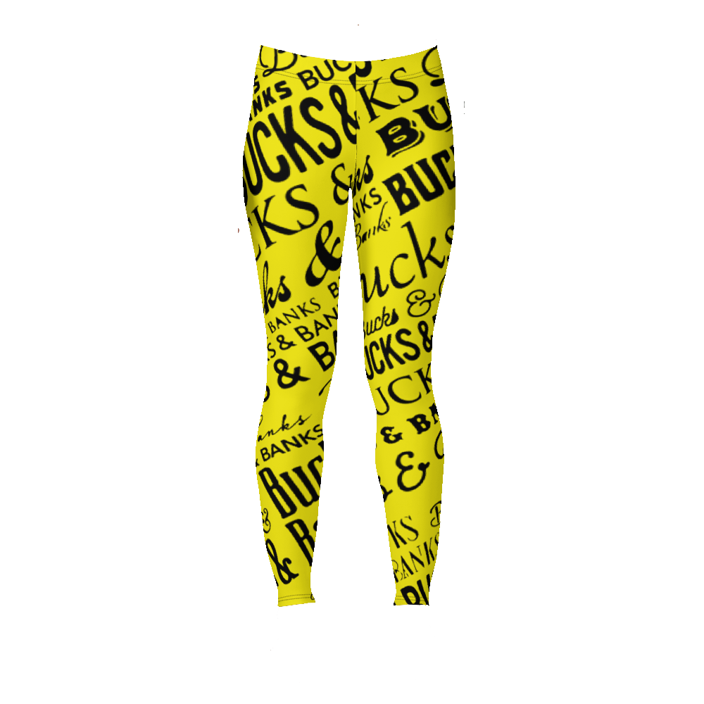 Image of Headlines Leggings Ylw/Blk