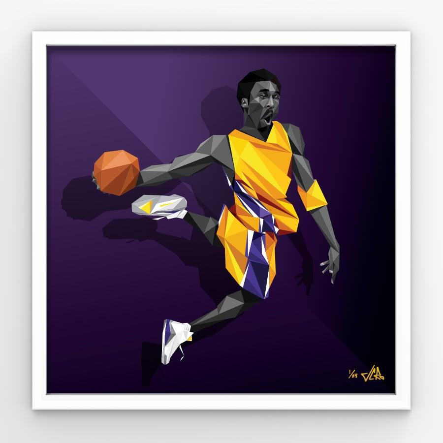 Image of 824 / 413 - limted purple edition print