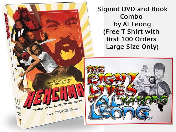 Image of Autographed Henchman: The Al Leong Story Special Edition DVD + BOOK