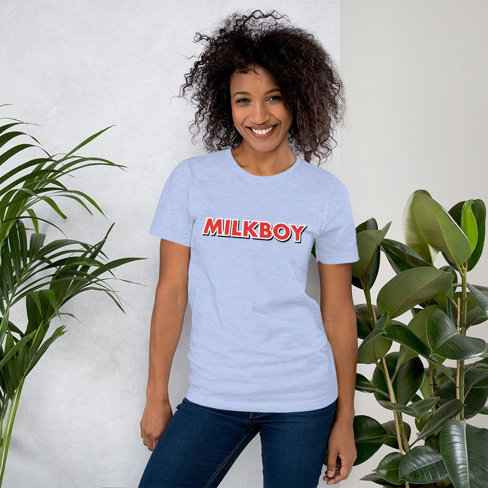 Image of MilkBoy Heather Blue Etch Tee