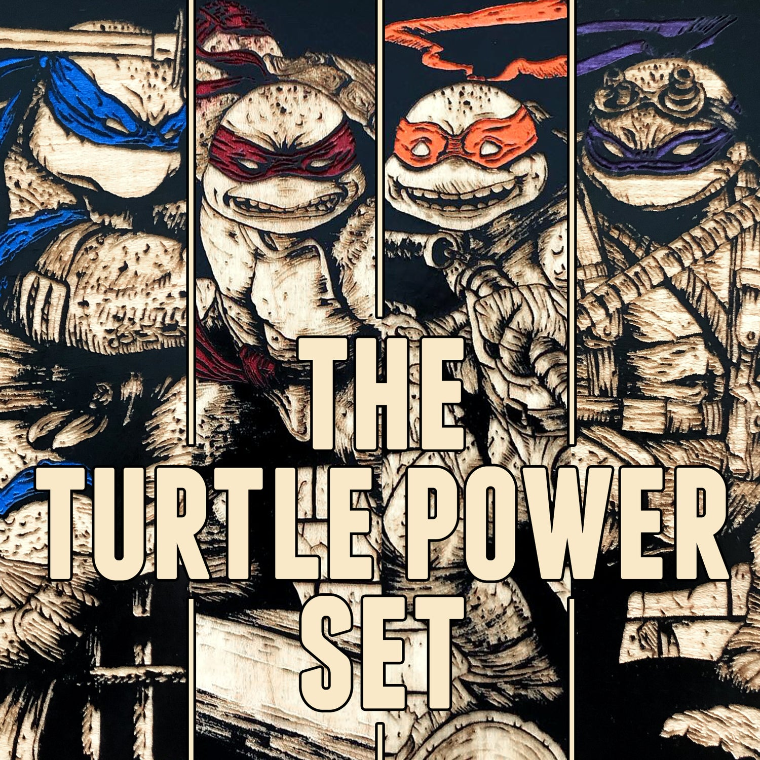 Image of The Turtle Power Set