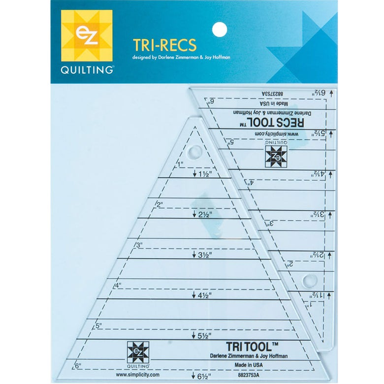 Image of Tri Recs Tools 2 Ruler Set