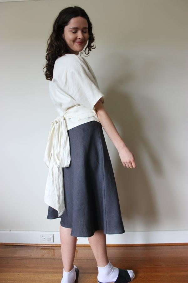 Image of Swift Wrap Skirt - Long