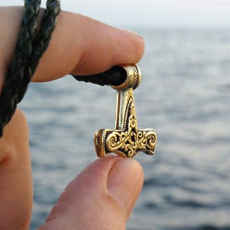 Image of Mjolnir / mini - handmade, bronze