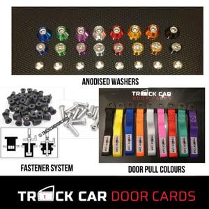 Image of Citreon Saxo VTR/VTS / Peuguot 106 REARS - Track Car Door Cards