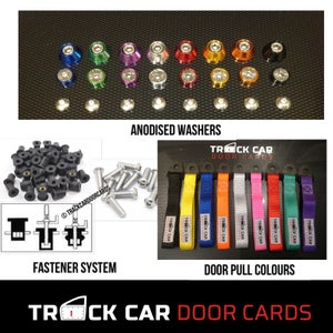 Image of Focus mk2 Rear Panels - Track Car Door Cards