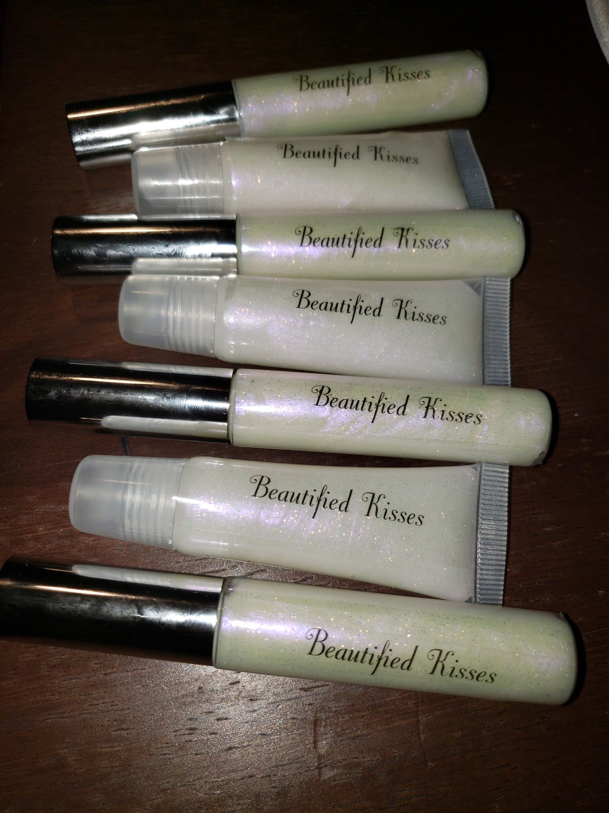 Image of Beautified Kisses Lip Gloss- So Icy Tube