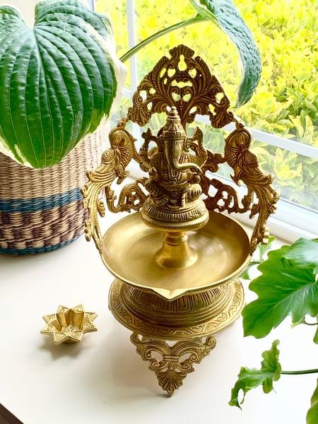 Image of Large Ganesha Lamp