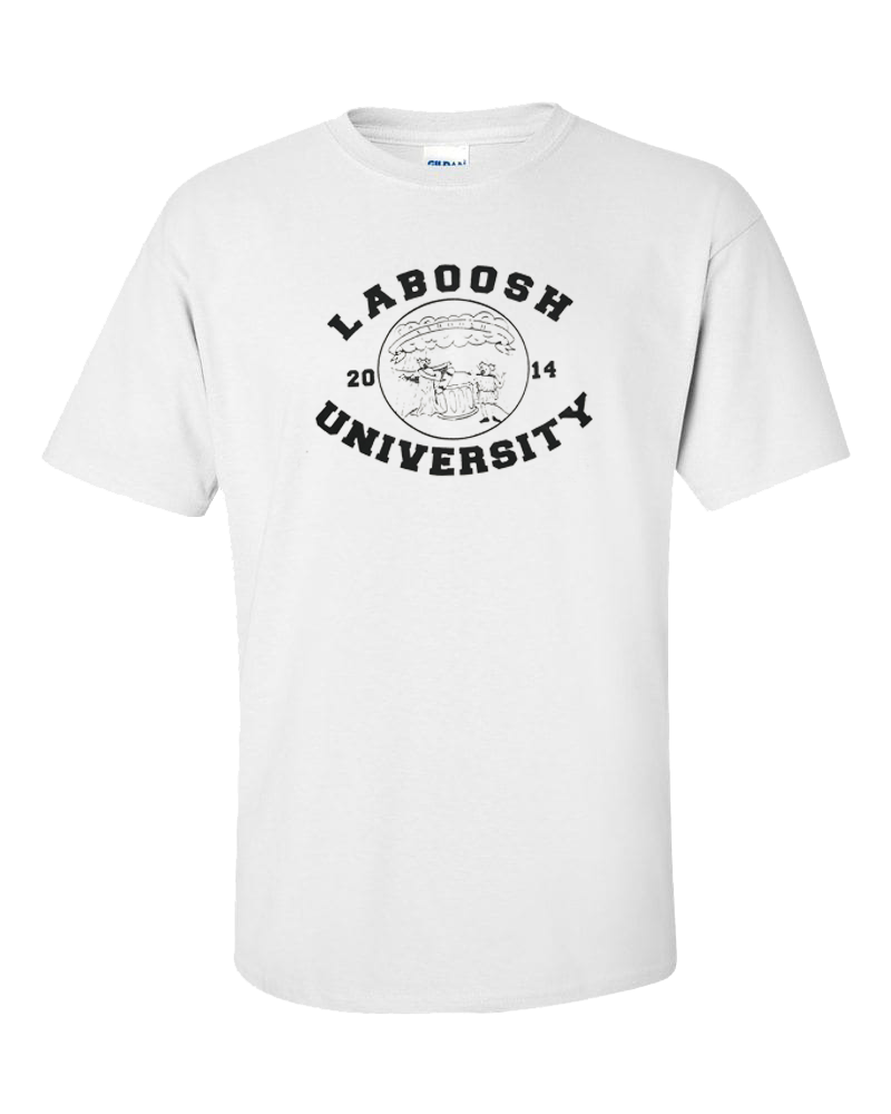 Image of White University Tee