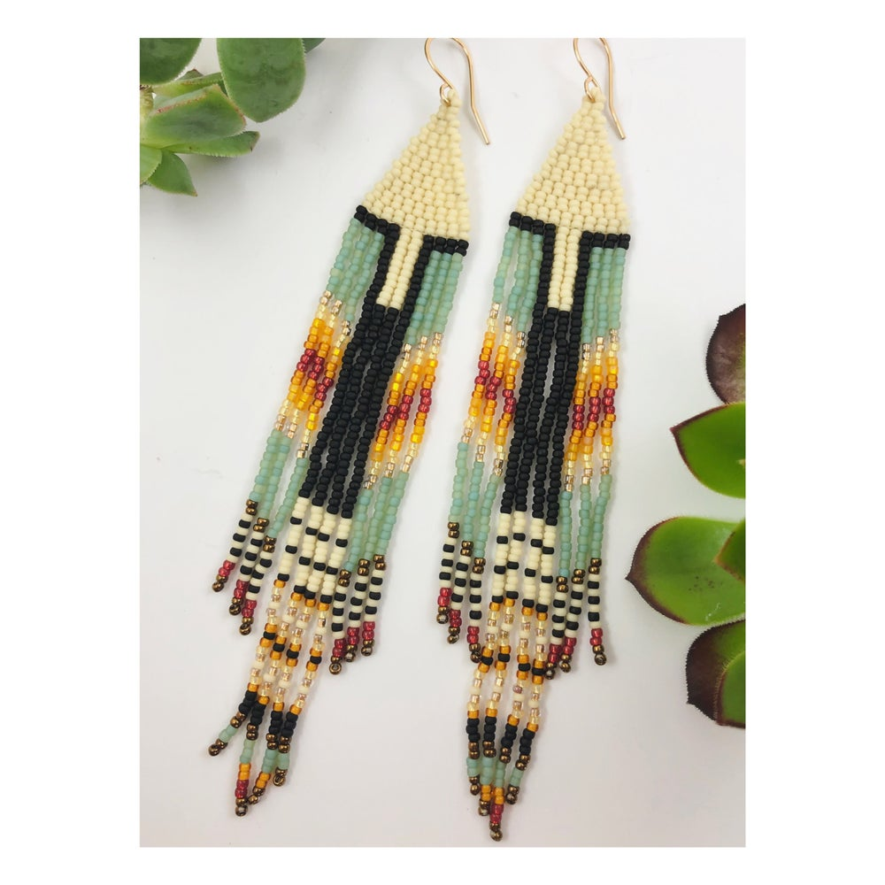 Image of Summer Blanket Earrings