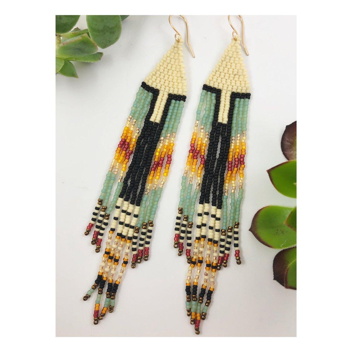 Image of Summer Blanket Earrings