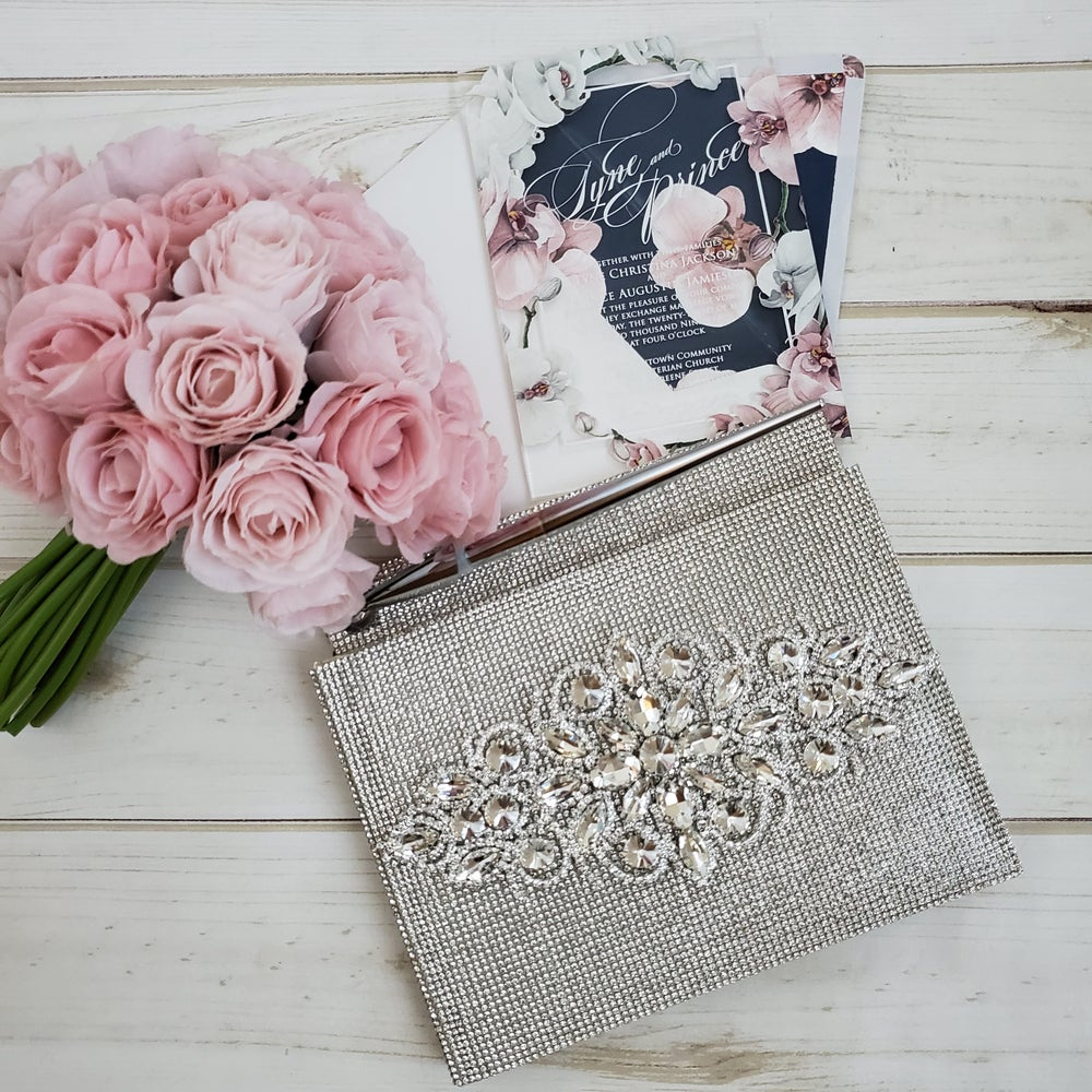 Image of All in One Bling Guest Book (Available in other Colors)