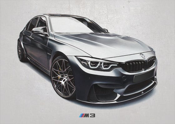 Image of BMW M3 Poster Print