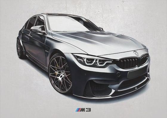 Image of BMW M3 Poster Print
