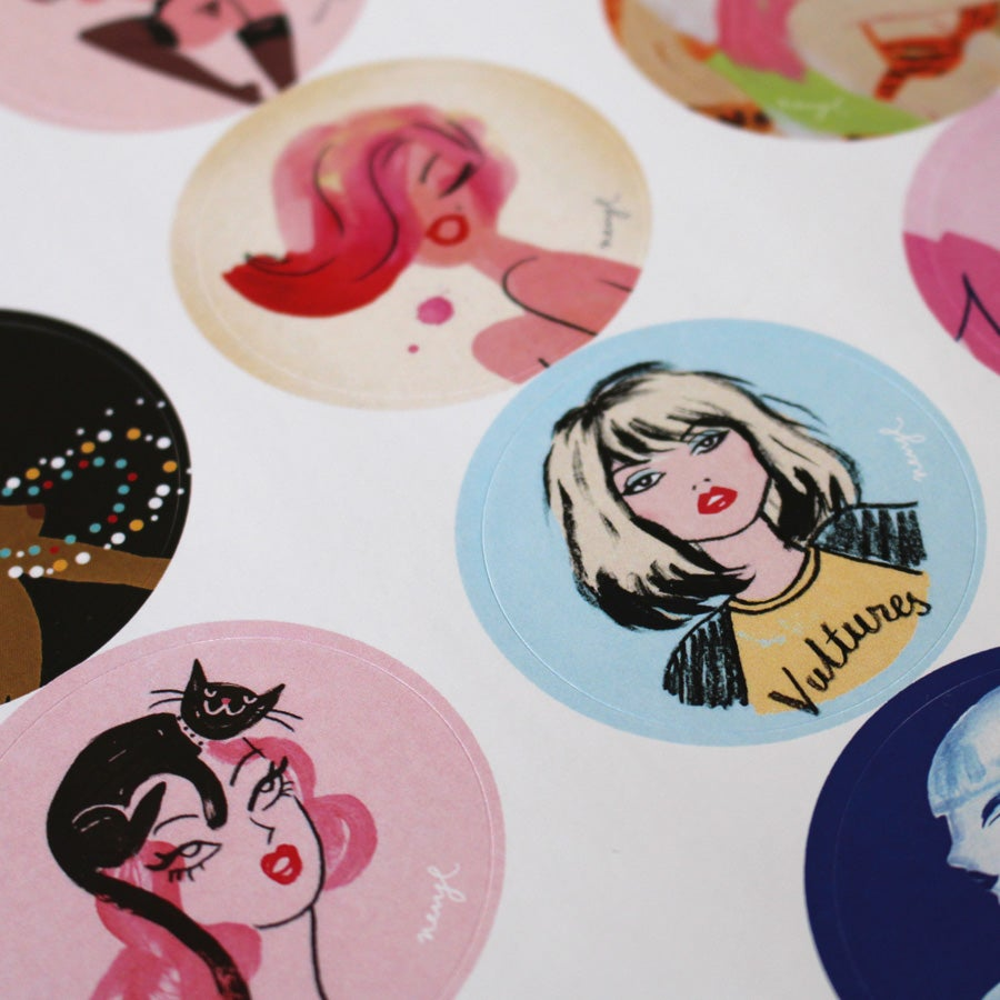 Image of Sticker Chicks