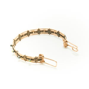 Image of Wave Wire Wrapped Bracelet