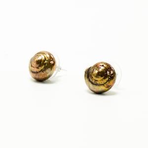 Image of Copper Specimen Stud Earrings