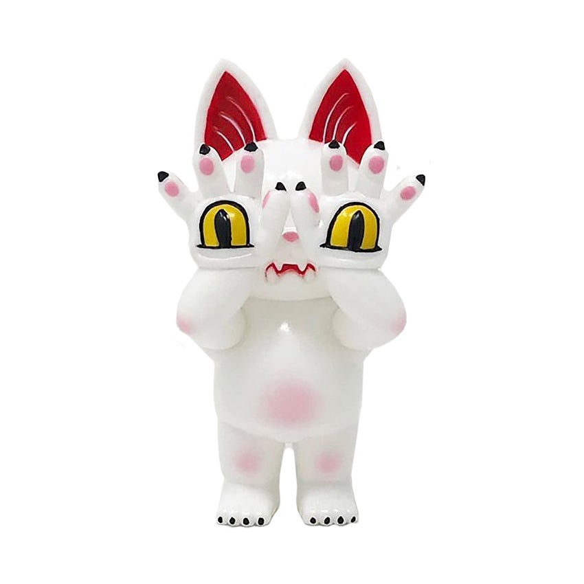 Image of Hell's Cat Onigiri white - PreOrder