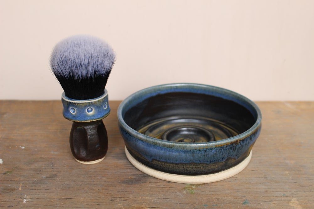 Image of Shallow Wet Shaving Bowl.