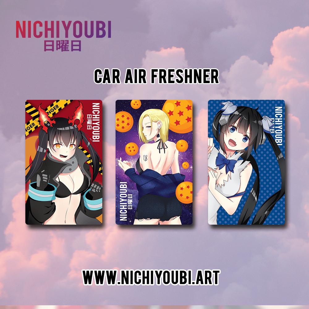 Image of [Car Air Freshner] Tamaki - Android18 - Hestia - Misaka - Kurumi - Tohka