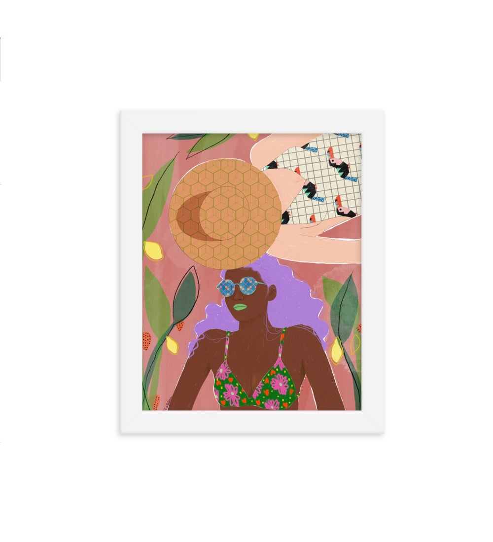 Image of Tanning Friends Print