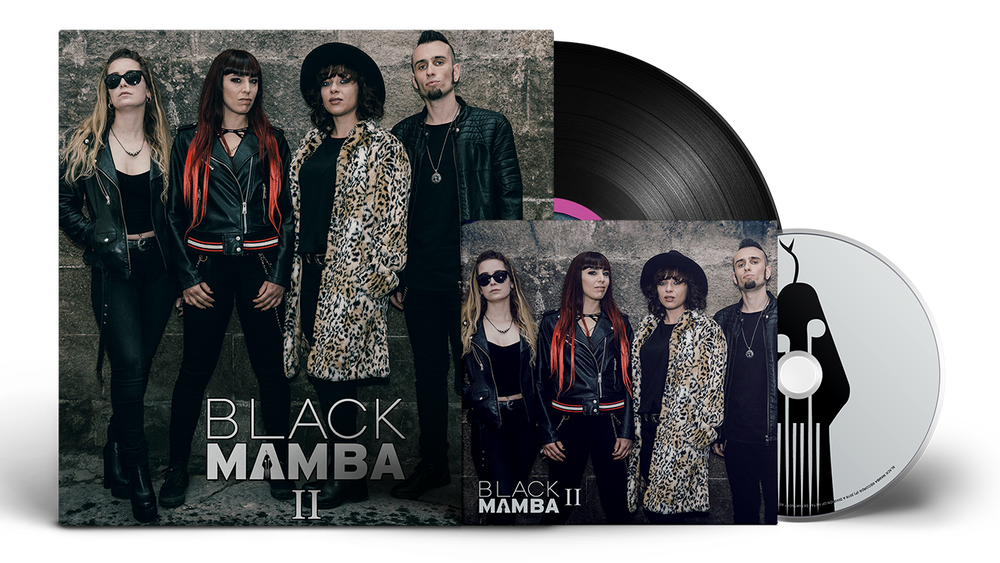 Image of Silver Bundle: Black Mamba II LP + CD